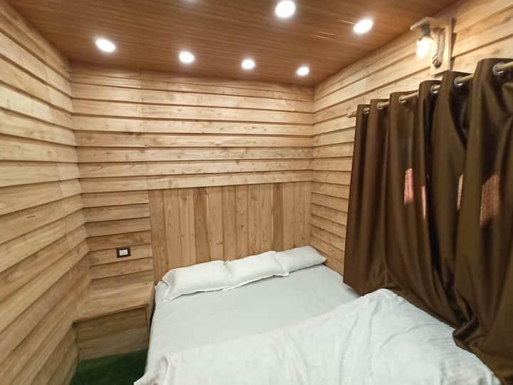 Wooden rooms,