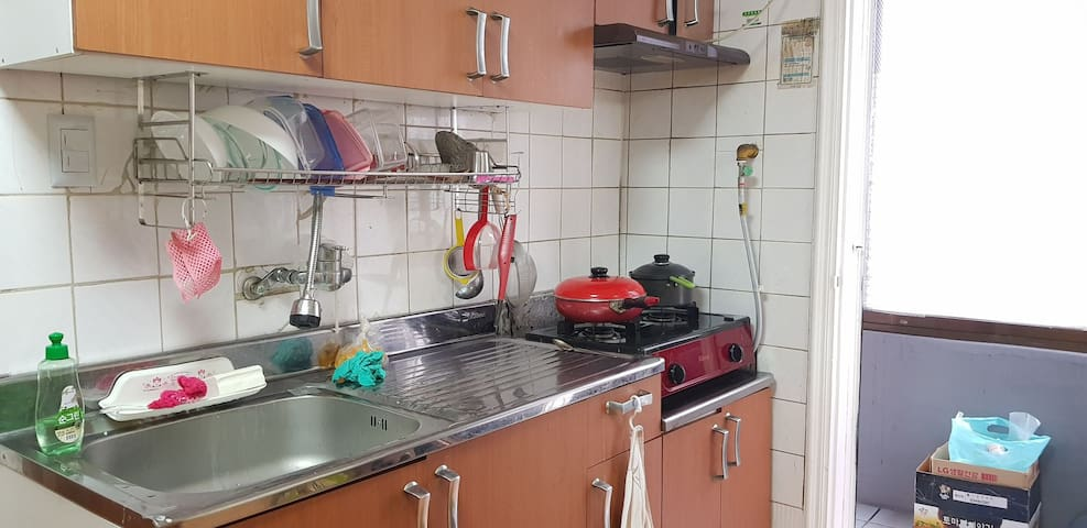 Kitchen with everyting.