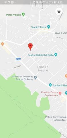Sunny apartment Rome-Cassia