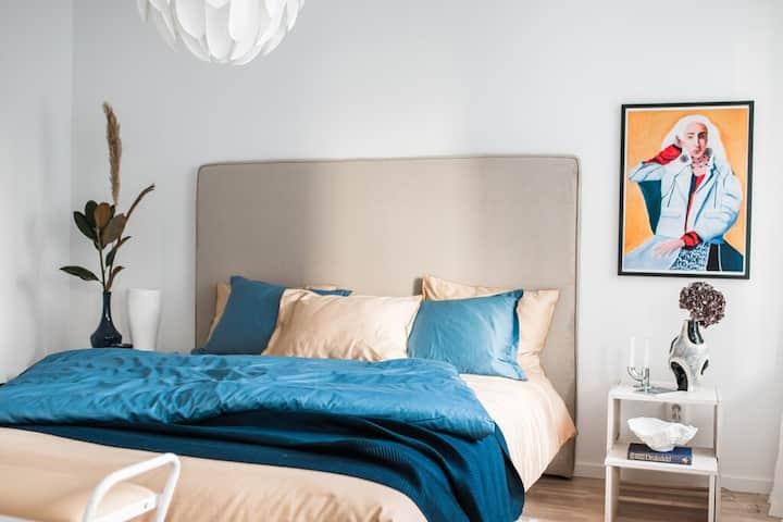 Amazing 2 Bedroom, close to Sea/City/Nature