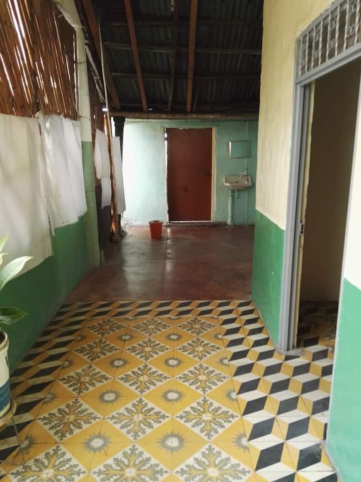 habitacion en casa colonial