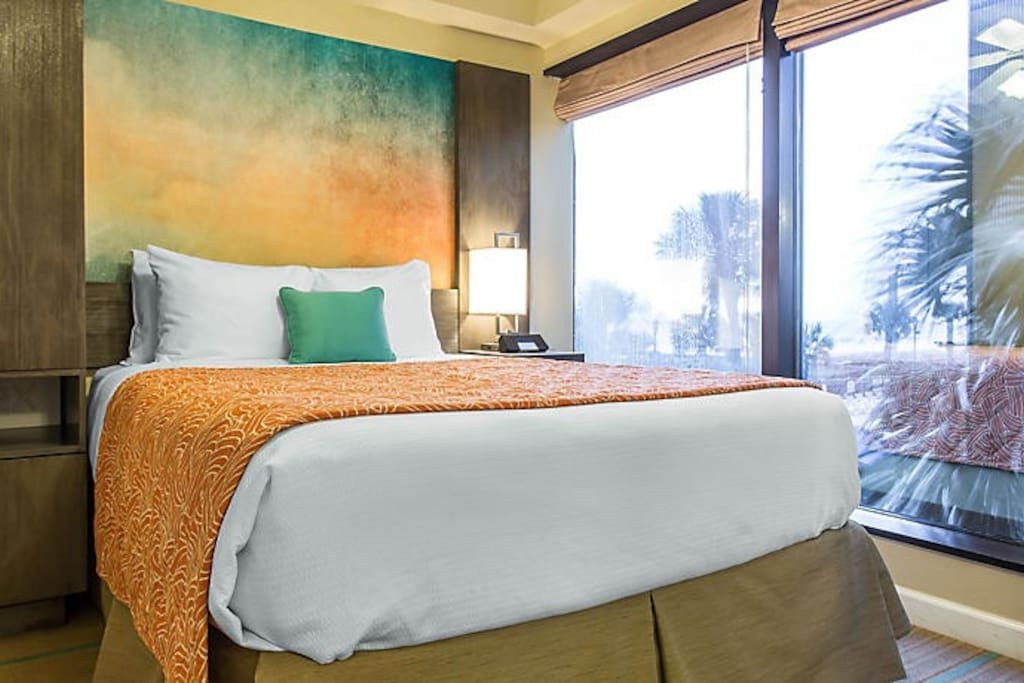 1 bedroom Queen size bed