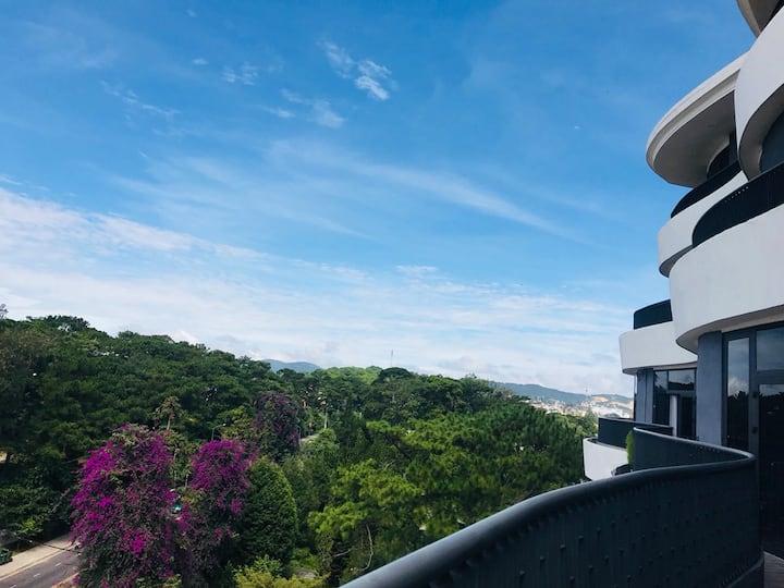 Panorama sky house