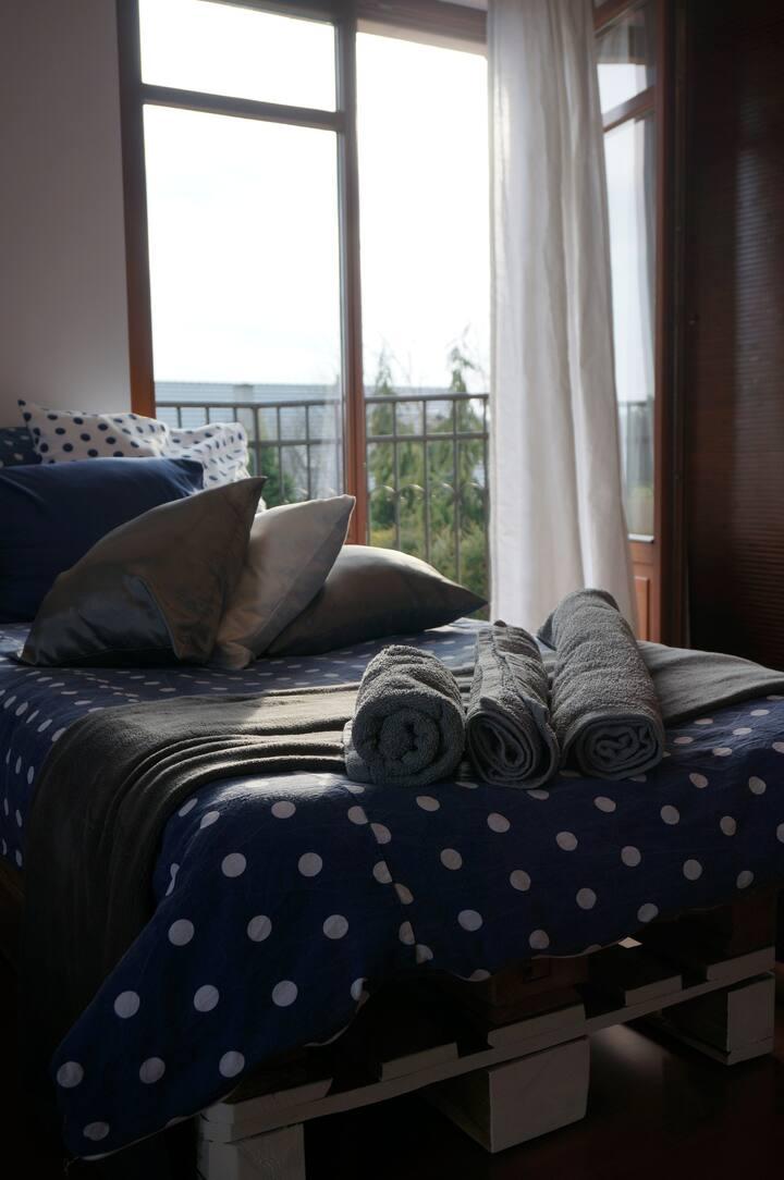 SAS Villa - apartament z balkonem