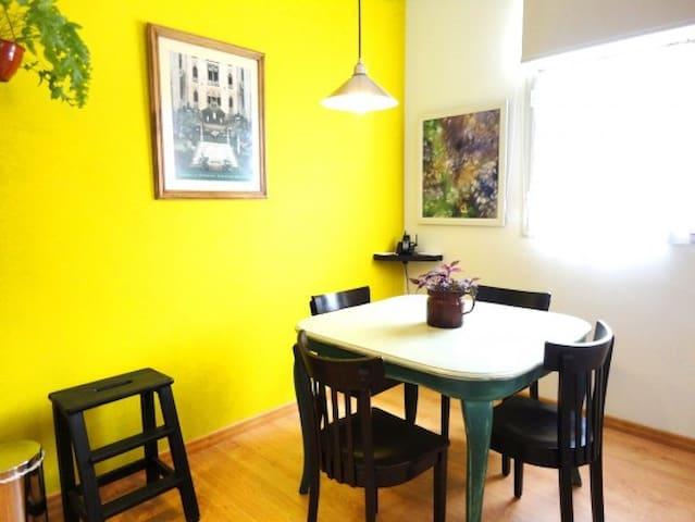 Comfortable & Sunny Apt -San Telmo- - Buenos Aires - Apartamento
