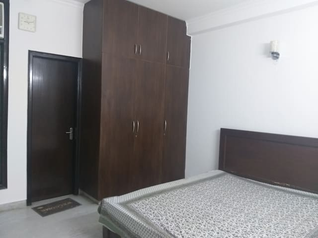 1 Bedroom with ensuite bathroom in south Delhi.