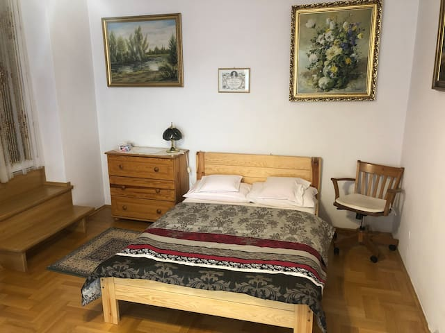 Sunny apartment in the center of Myślenice