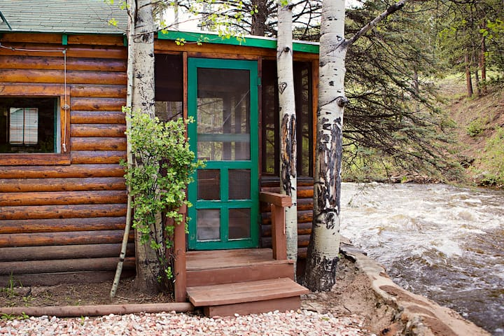 Ataloa Cabin on the Big Thompson River
