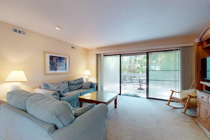Sea Colony Tennis 1st floor condo w/ shared sauna, gym, and free WiFi