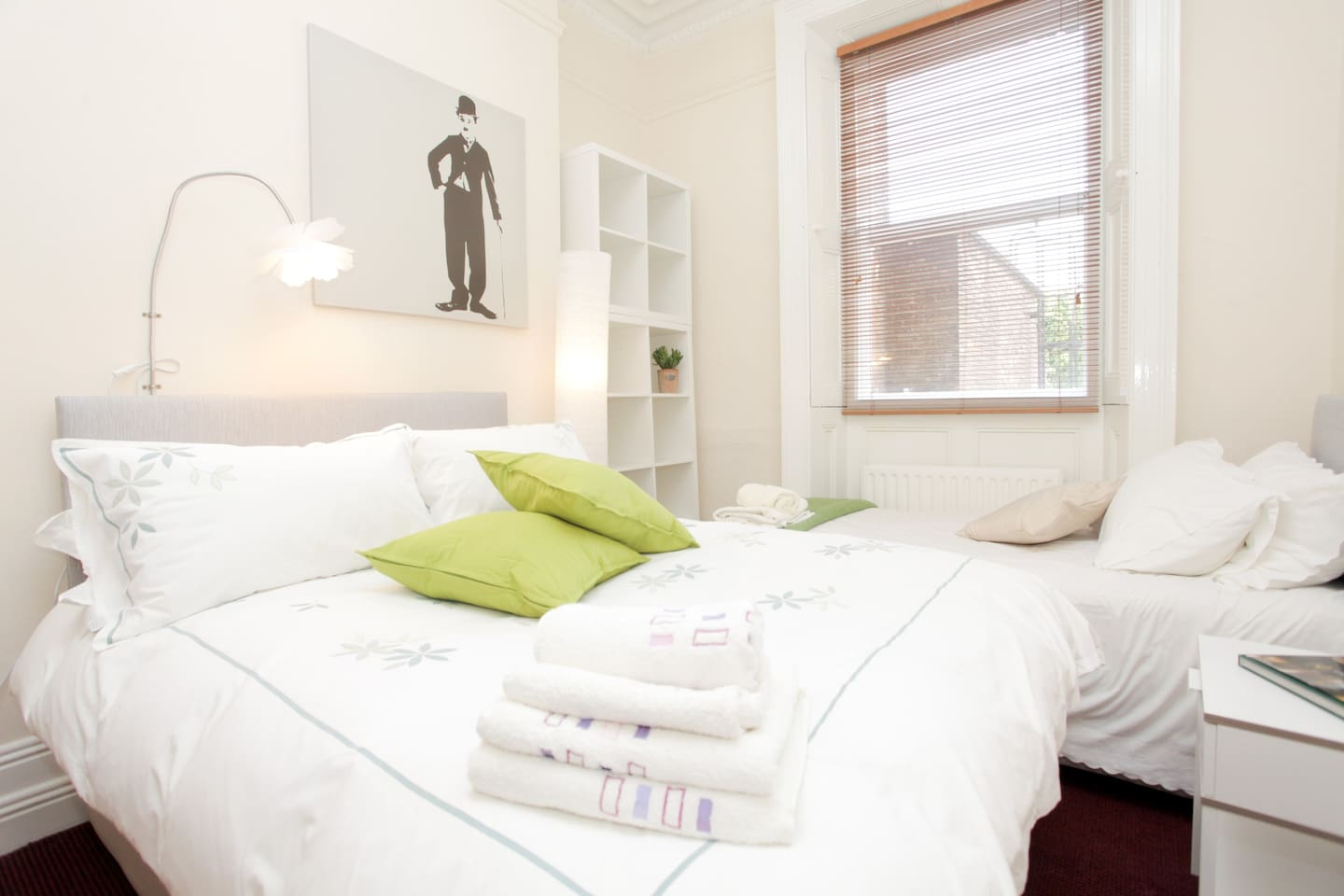 Comfortable and relaxing bedrooms at the rear of the building ensure you get a peaceful nights rest.