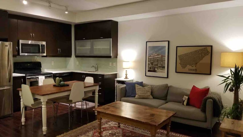 High Park Condo with Parking and Steps to Subway
