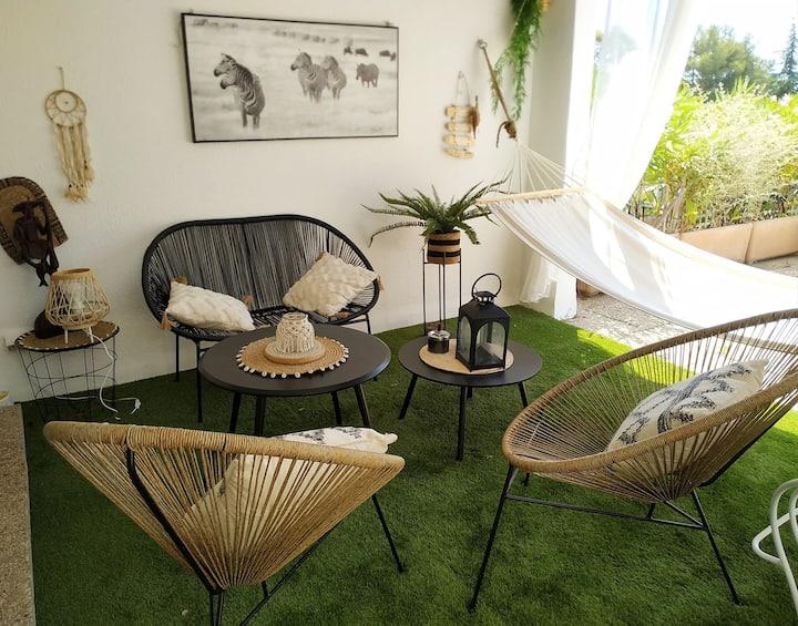 hyeres : Magnifique studio, idéalement situé