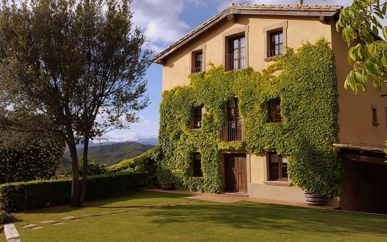 Casa Rural Cardona, 7hab piscina climatizada padel - Cardona - Huis