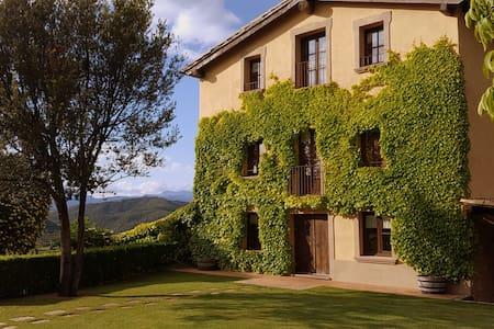 Casa Rural Cardona, 7hab piscina climatizada padel - Cardona