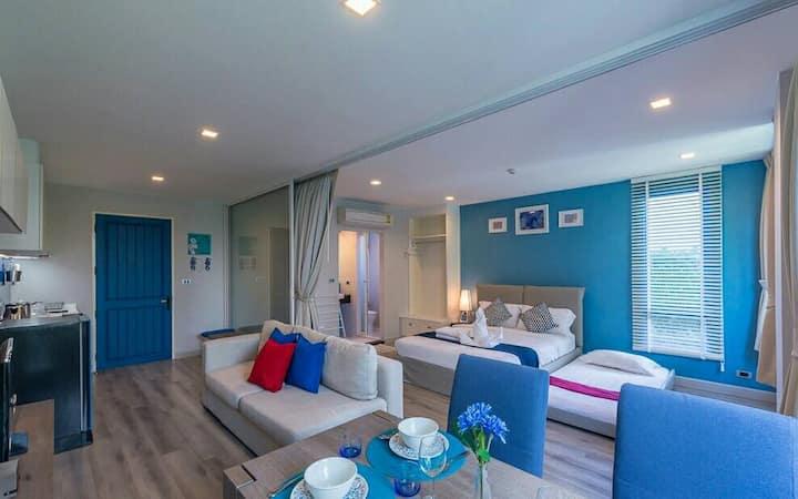 The Crest Santora Hua-Hun: 1 Bed room