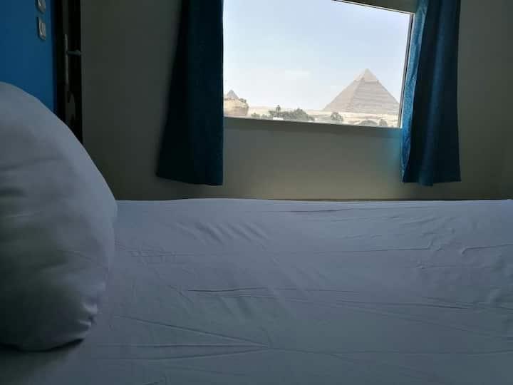 Mini house pyramids view