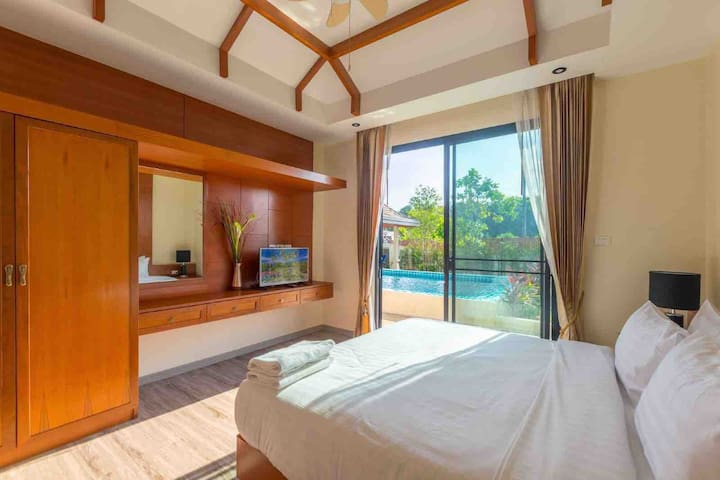 【BalaBala House】二房精品泳池别墅距离海滩300米