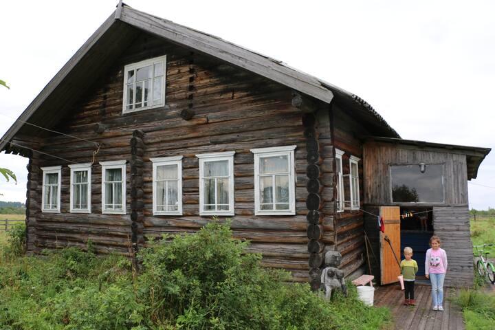 Гостевой крестьянский дом в живописном месте