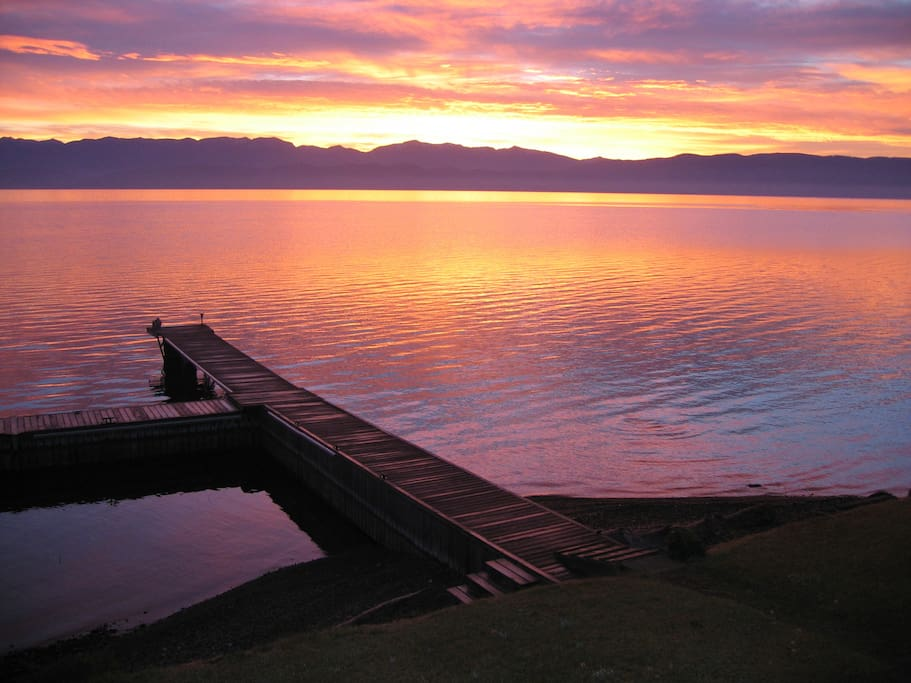 Flathead Lake Home, LLC offers the best view of Montana's big sky.