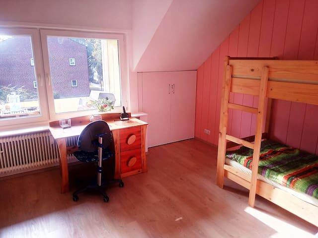 Zimmer nahe Jacobs University/Bremen-Vegesack+City - Bremen