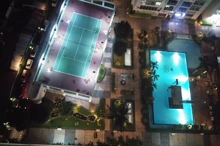 Beautiful poolview 3 BR apt - Ho Chi Minh City - Daire