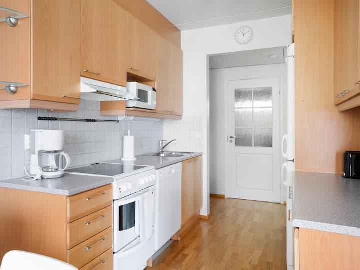 Cozy 1-bedroom apartment with spacious balcony