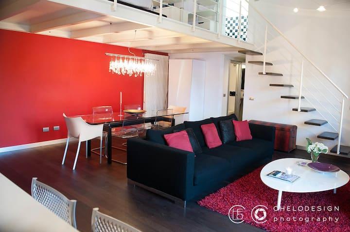 Romantico duplex a Luino-lago maggiore