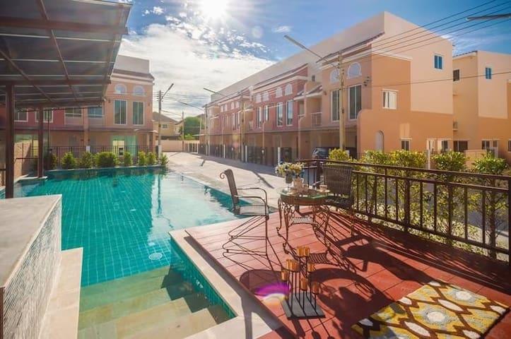 Villa Maroc Bangsaen, 3 bedrooms