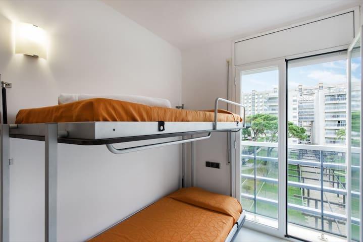 186 Bonic apartament front del mar - Blanes - Pis