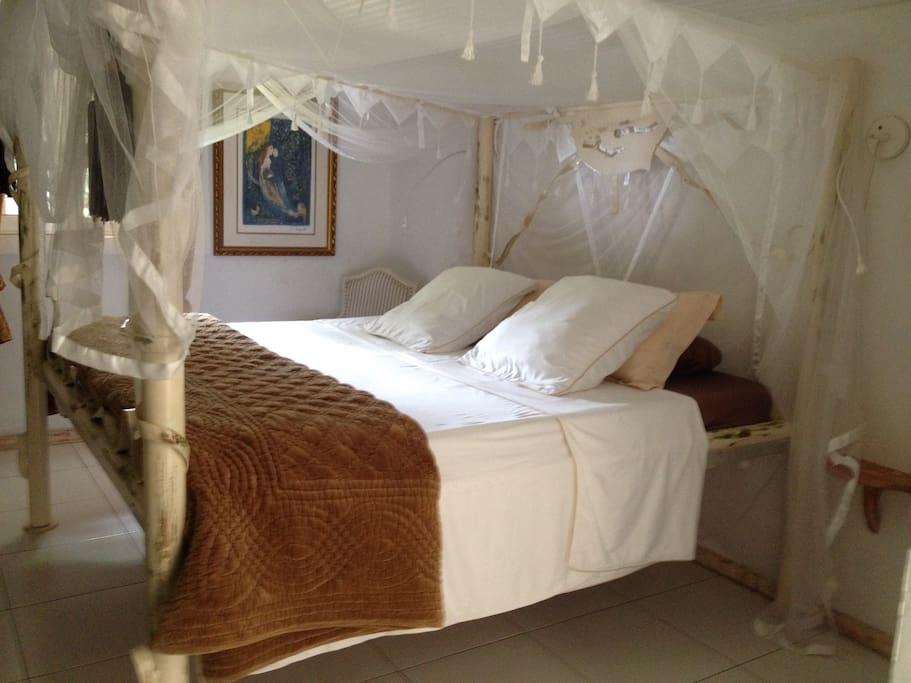 Chambre 1 ( lit Queen size )