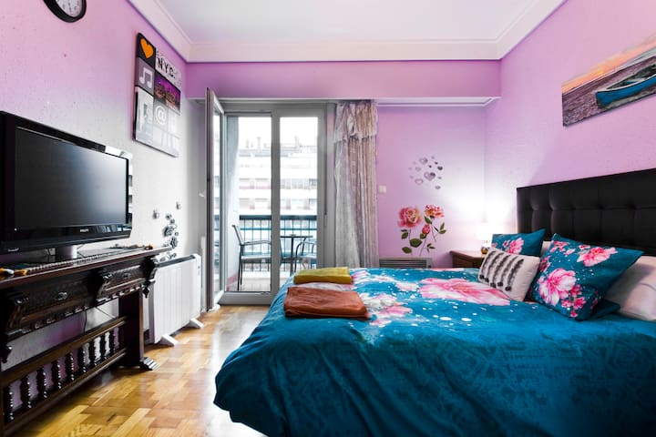 Habitación grande en Donostia San Sebastia