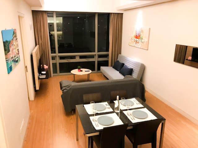 Bukit Bintang 2BR 4-7 Pax 4-star ServicedApartment - Kuala Lumpur - Apartamento
