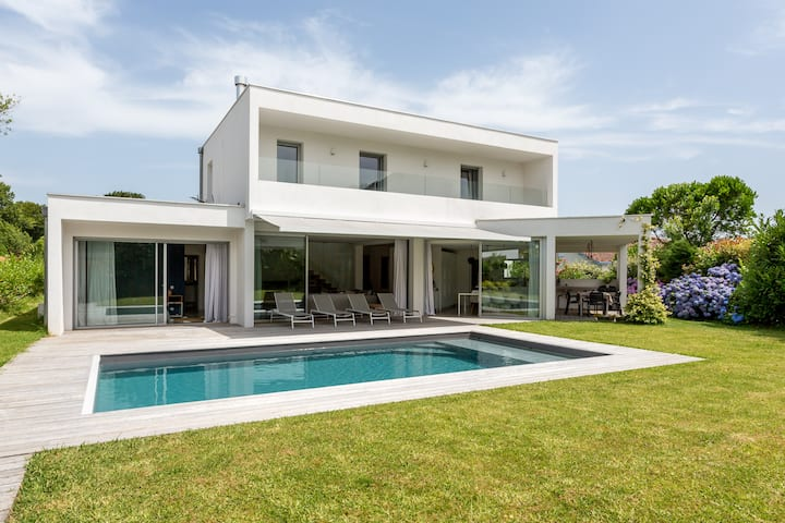 Villa Architecte Piscine Anglet 6 couchages
