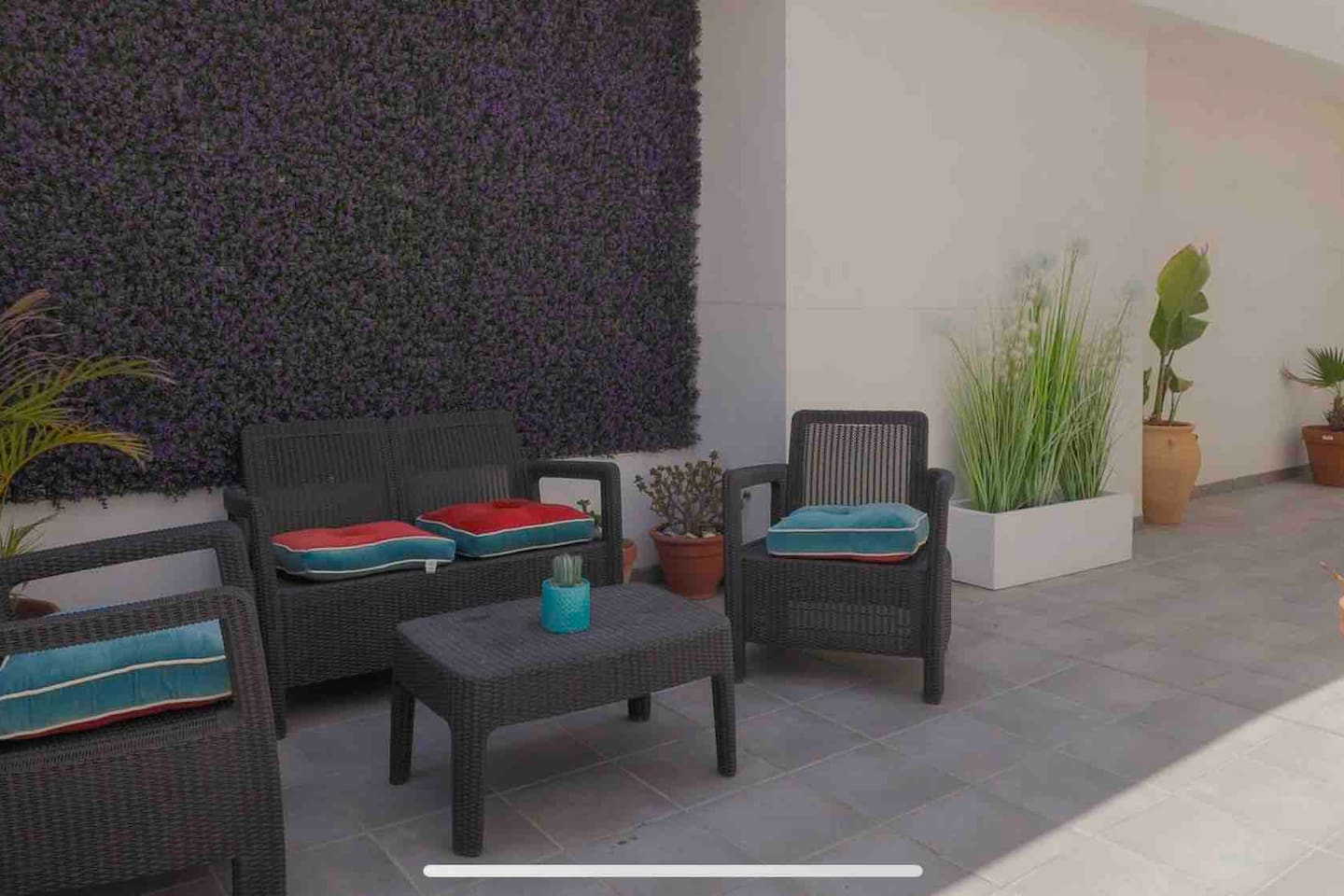 Sunny Terrace with BBQ for chilling at home