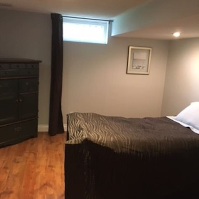 Brown Bedroom-newly renovated