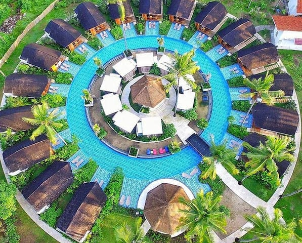 Gili Air Island Resort 1 Cottage LAgoon Lombok