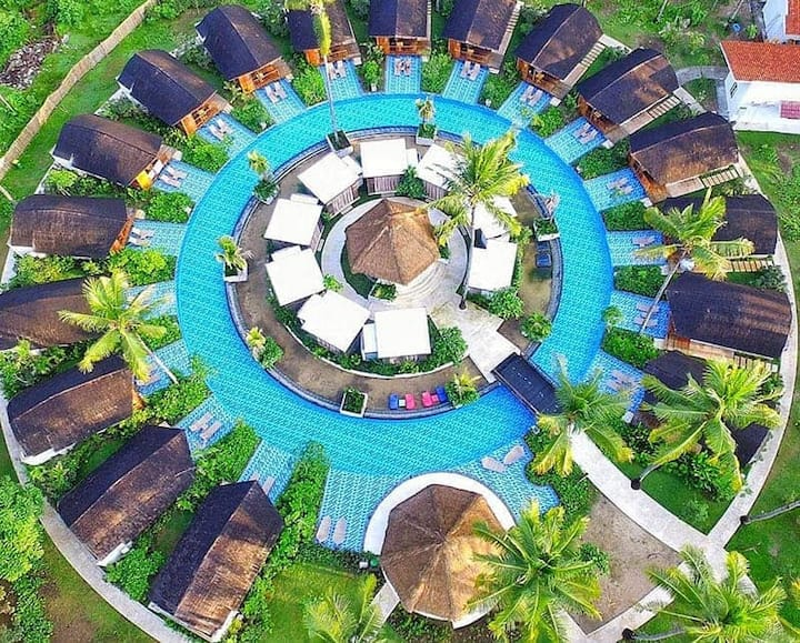Gili Air Island Resort 4 Cottage LAgoon Lombok