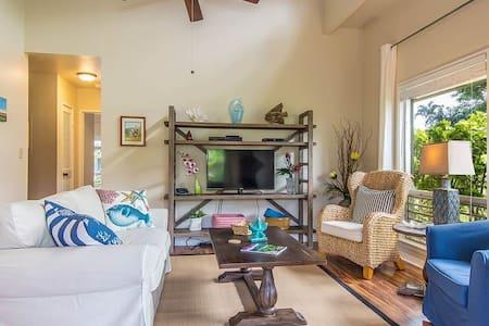 Clean, Modern, Tasteful Condo -U26A - Princeville - Lejlighedskompleks
