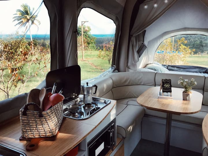 A Casa Concha: Glamping experience with a sea view