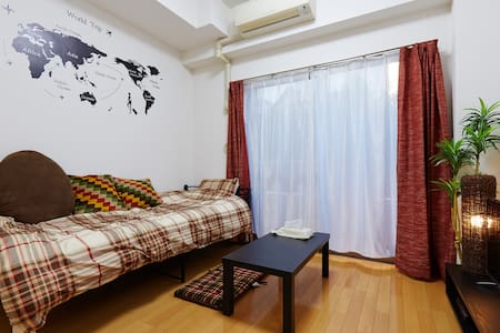 New open! Walk to the Shinjuku town 30 seconds - 新宿区 - Apartment