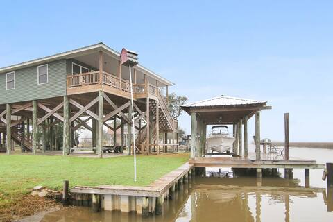 Waterfront Hartley Fishing Camp New Orleans