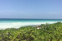 Tulum Beach - 5 Minutes By Car, 15 By Bike