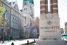 Next door neighbor to MU!  Perfect spot for parents weekend, visitors and friends!