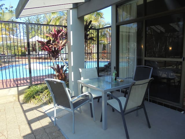 Poolside Villa  at Sapphire Beach - Nautilus