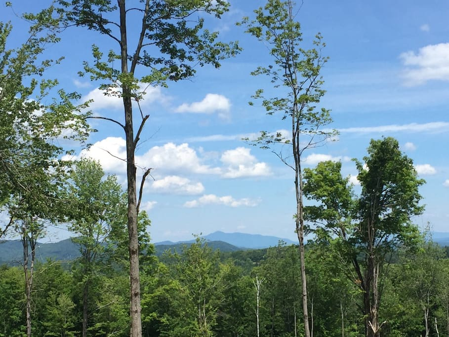 Valley views of Mt Ascutney