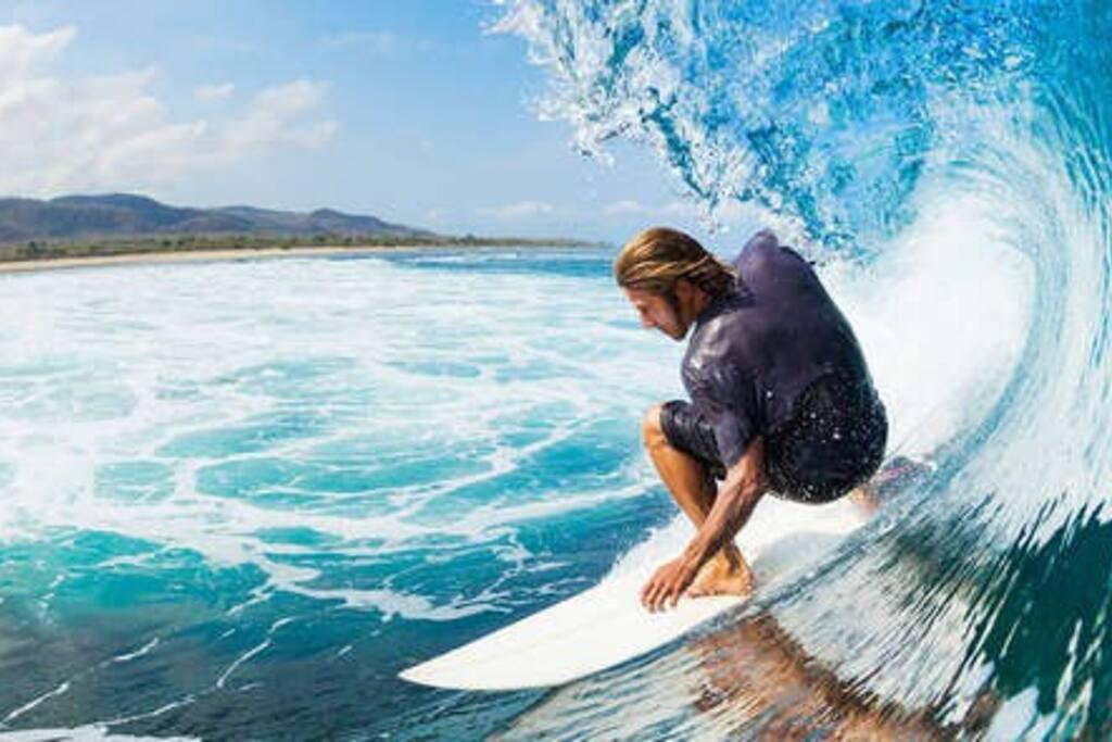 Ótima para prática de surf!