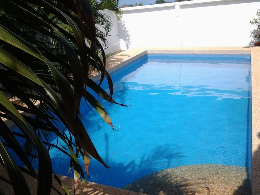 Nice view of pool