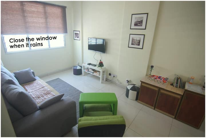 Budget Home in Macallum George Town 100mbps Penang