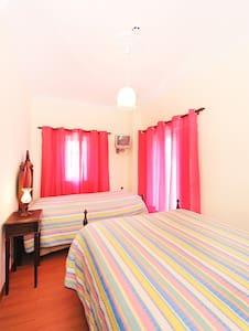 Quarto rosa - Alojamento Brisas Guadiana - Chambres d'hôtes