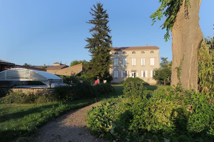 Vacances d'été ,grande maison pour famille ou amis - Andancette - Дом